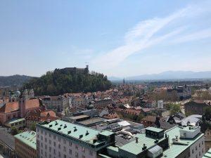 Ljubljana, die Hauptstadt von Slowenien